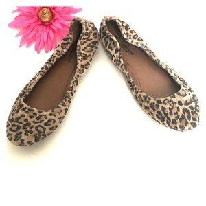 LUCKY 🍀 BRAND leopard print ballet flats 🥿